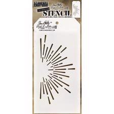 Tim Holtz Layered Stencil - Burst