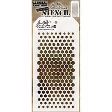 Tim Holtz Layered Stencil - Gradient Hexagon