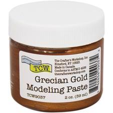 The Crafters Workshop - Modeling Paste / Grecian Gold