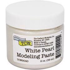 The Crafters Workshop - Modeling Paste / White Pearl