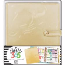 Happy Planner - Create 365 Deluxe Cover Planner / Gold (Classic/STD)