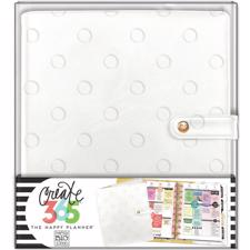 Happy Planner - Create 365 Deluxe Cover Planner / Snow Dots (Classic/STD)