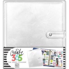Happy Planner - Create 365 Deluxe Cover Planner / Silver (Big/STOR)