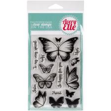 Avery Elle Clear Stamp - Butterflies