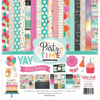 Echo Park Paper Collection Pack - Party Time