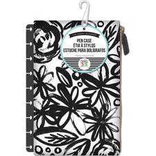 Happy Planner / Create 365 - Pouch / Black Flower (std)