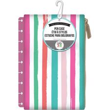 Happy Planner / Create 365 - Pouch / Pink Stripe (std)