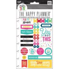 Happy Planner - Create 365 Stickers / Happy Brights