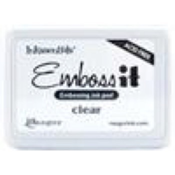 Stempelpude Embossing - Emboss-It / Clear
