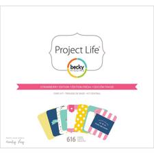 Project Life Core Kit - Strawberry