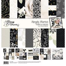 "Simple Stories Paper Pack 12x12"" Collection - Allways & Forever"