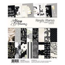 "Simple Stories Paper Pad 6x8"" - Allways & Forever"