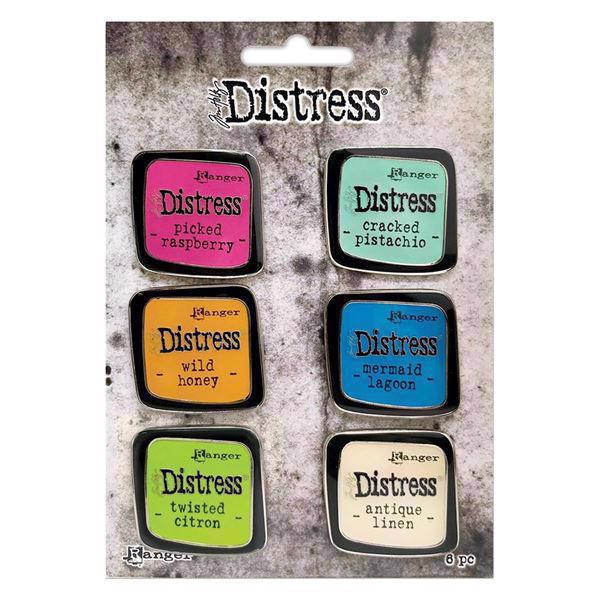 Tim Holtz Distress Enamel Collector Pins - Collection Set #1 (broche-nåle)