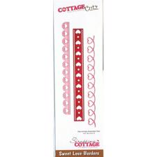 Cottage Cutz  Die - Sweet Love Borders