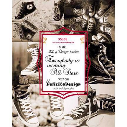 Felicita Design Card Toppers - Everybody is wearing all stars