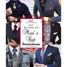 Felicita Design Card Toppers - Men's Suit