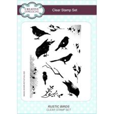 Creative Expressions  Clear Stamp Ste - Rustic Birds