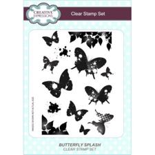 Creative Expressions  Clear Stamp Ste - Butterfly Splash