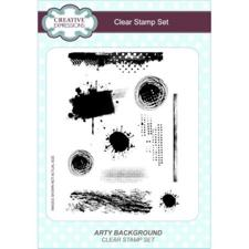 Creative Expressions  Clear Stamp Ste - Arty Background
