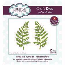 Creative Expressions  Die - Fern Fronds