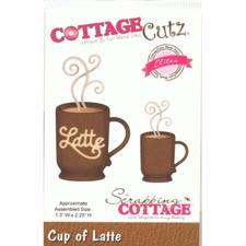 Cottage Cutz  Die - Cup of Latte