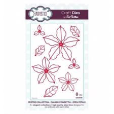 Creative Expressions  Die - Classic Poinsettia Open Petals