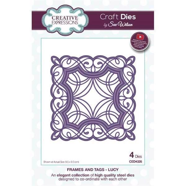 Creative Expressions  Die - Frames & Tags Collection / Lucy