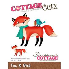 Cottage Cutz  Die - Fox & Bird