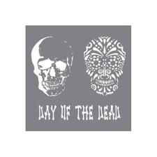 "Andy Skinner Stencil 8x8"" - Day of the Dead"
