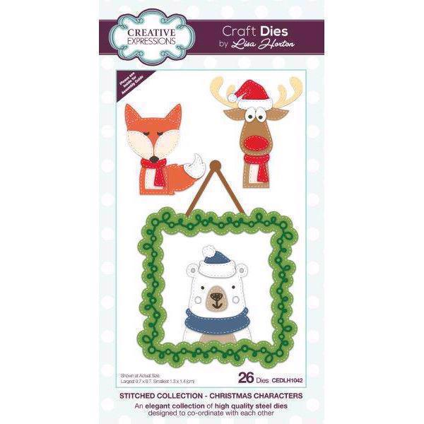 Creative Expressions  Die - Stitched Collection / Christmas Characters