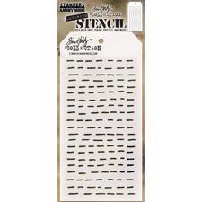 Tim Holtz Layered Stencil - Dashes