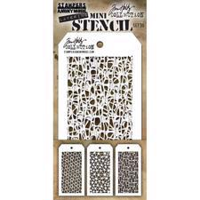 Tim Holtz MINI Stencil Set - #35