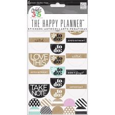 Happy Planner - Create 365 Stickers / Love This Neutral