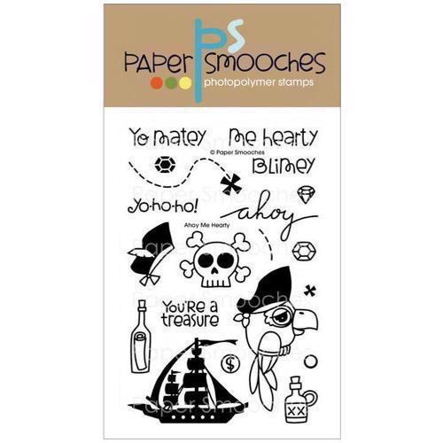 Paper Smooches Clear Stamp Set - Ahoy My Hearty