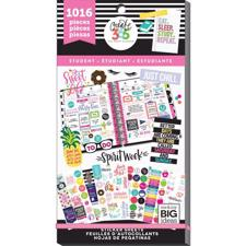 Happy Planner - Happy Planner / Sticker Value Pack - Student  (1016 pcs)