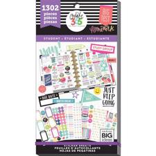 Happy Planner - Happy Planner / Sticker Value Pack - Student YAY (1302 pcs)