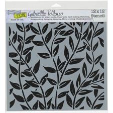 "Crafter's Workshop Template 12x12"" - Jungle Vine"