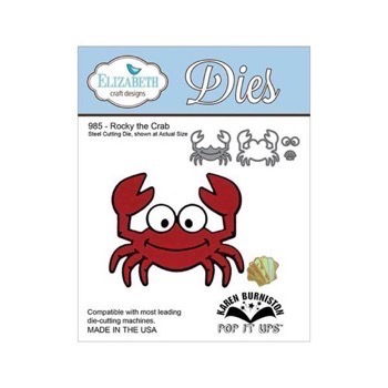 Elizabeth Crafts Die - Rocky the Crab