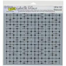 "Crafter's Workshop Template 12x12"" - Tile Mania"