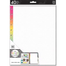 Happy Planner / Create 365 - Big Planner Fill Paper / Dot Grid (stor)
