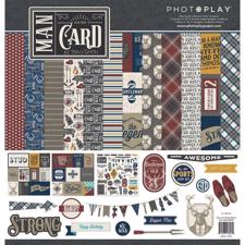 "Photoplay Collection Pack 12x12"" - Man Card"