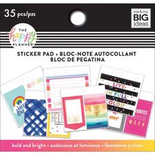 Happy Planner / Create 365 - Tiny Sticker Pad / Bold & Brights