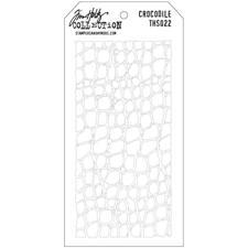 Tim Holtz Layered Stencil - Crocodile