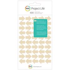 Project Life Stickers - Arrows / Tan