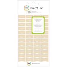 Project Life Stickers - Days / Tan