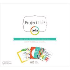 Project Life Core Kit - Aqua (Limited Edition)