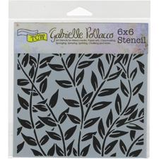 "Crafter's Workshop Template 6x6"" - Jungle Vine"