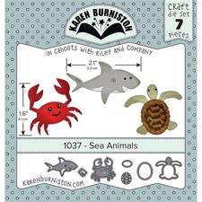 Karen Burniston Die - Sea Animals