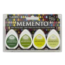 Memento Dew Drop 4-pack Set - Greenhouse