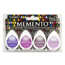 Memento Dew Drop 4-pack Set - Juicy Purples